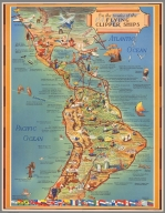 On the routes of the flying clipper ships : [in Latin America]