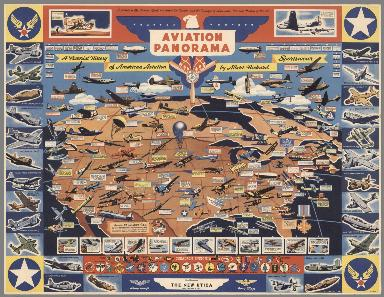 Aviation Panorama. A Pictorial History of American Aviation by Albert Richard Sportwear.
