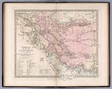 Persia with part of the Ottoman Empire