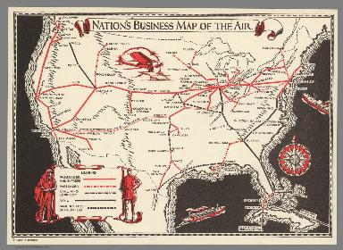 Nation's Business Map of the Air