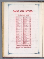 Index Page: Ohio Counties