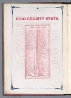 Index Page: Ohio County seats