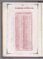 Index Page: Counties in Illinois