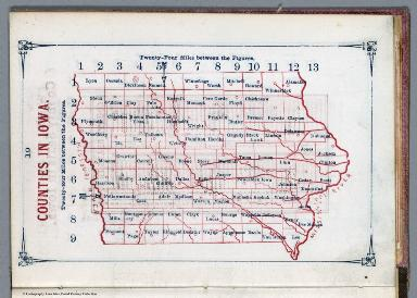 Counties in Iowa