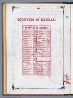 Index Page: Counties in Kansas