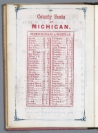 Index Page: County Seats in Michigan
