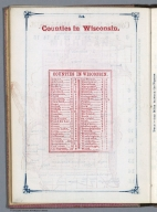 Index Page: Counties in Wisconsin
