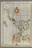 fol. 141a Western coast of Greece from the island of Levcas going north as far as the island of Paxi