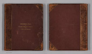 Covers: Mitchell's New Reference Atlas for the Use of Colleges, Libraries, Families and Counting Houses