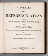 Title Page: Mitchell's New Reference Atlas