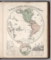 Map No. 1. The Western Hemisphere an equatorial projection
