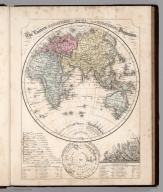 Map No. 2. The Eastern Hemisphere an equatorial projection