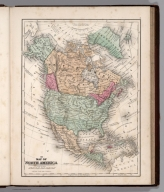 Map No. III. Map of North America