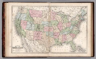 Map No. VII. Map of the United States