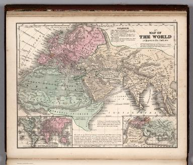 Map No. 45. Map of the World as known to the ancients