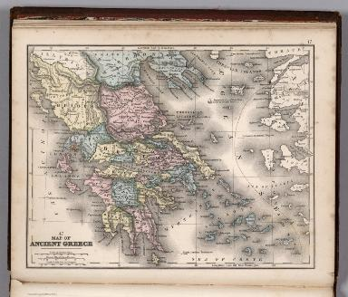 Map No. 47. Map of Ancient Greece