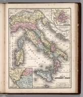 Map No. 48. Map of Ancient Italy