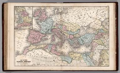 Map No. 49. Map of Roman Empire at the period of its greatest extent