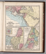Map No. 50. Old Testament. 51. Map of Canaan. 52. The land of Israel