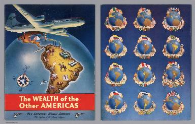 Covers: The Wealth of the Other Americas. Pan American World Airways