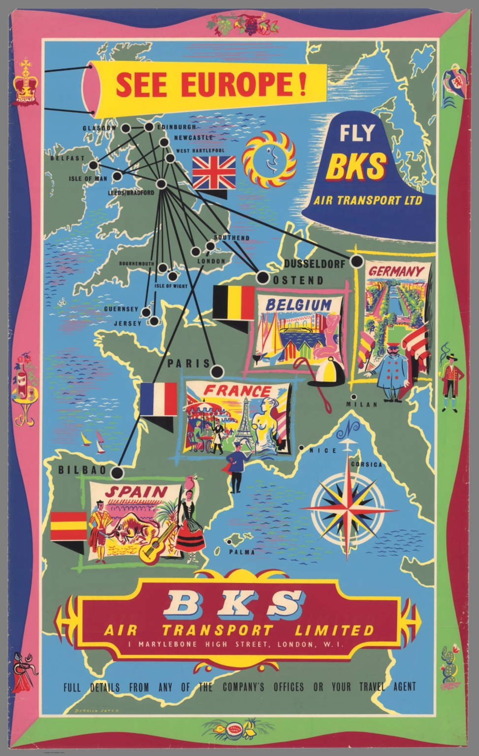 See Europe! Fly BKS Air Transport Limited