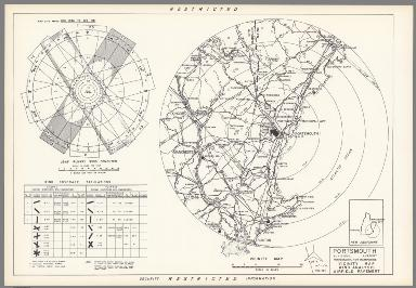 Portsmouth Municipal Airport : Portsmouth New Hampshire : Vicinity map