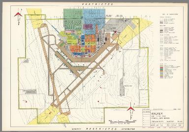 Walker Air Force Base : Roswell New Mexico : Preliminary master plan