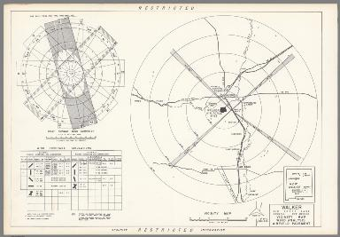 Walker Air Force Base : Roswell New Mexico : Vicinity map