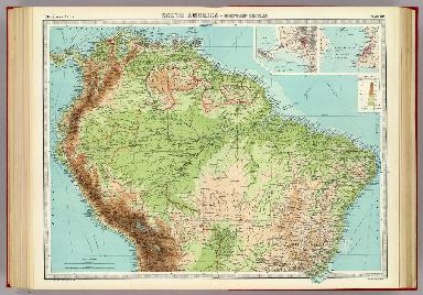 South America - northern section.