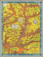 A hysterical map of Zion National Park