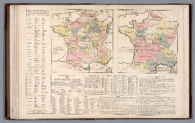 France, its provinces, rivers, canals, mountains, &c. No. 3