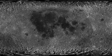 Moon LRO LROC WAC Global Morphology Mosaic 100m v3