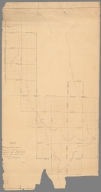 Plan of C.C. Knowles' Pre.iminary Lines 1871. June 24th 1872
