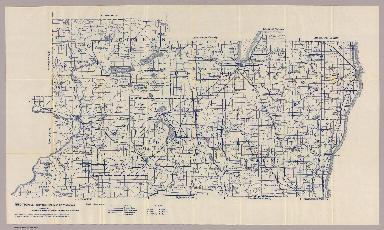 Section 2. Bicycle Road Map of Wisconsin.
