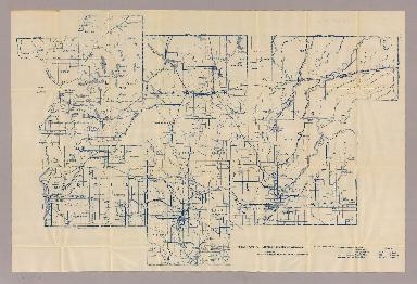 Section 10. Bicycle Road Map of Wisconsin.