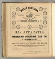 Meade Brothers; Maryland Portable Gas Co.; C.R. Woodworth & Co.