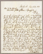Letter to O.M. Hatch, Secretary of State for State of Illinois from J.H. Colton.