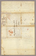 (Page 4 of) Letter from Sidney E. Morse to his parents dated November 14, 1821.