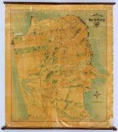 """The """"Chevalier"""" ... Map of San Francisco."""