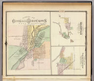 (Northeast Wisconsin.) The Fox River Valley of Wisconsin. Published by the Oshkosh Museum Auxiliary. Research - Mary A. O'Keefe. Map - Nile J. Behncke. Border - Mary G. Rogers. Pictures - Emma P. Comstock.
