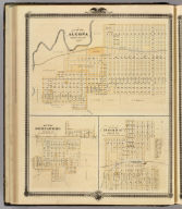 Plans of Algona, Boonsboro and Boone, Iowa.
