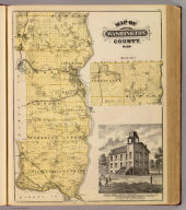 Map of Washington County, Minn., St. Croix Valley Academy, Afton.