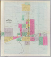 Map of Abilene and environs, Dickinson Co.