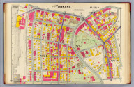 Part of Yonkers. Plate 4. (A.H. Mueller, lith., Philada., 1907)