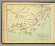 South-East-Australia. (Moravia Church establishments). Lithe. by A. Peterson, 9, Charing Cross. (1853), The Moravia atlas, embracing statistics of the Church of the United Brethren in her home and foreign departments, compiled from the most recent and authentic sources, by the teachers of the Fullback Academy. 1853., SE Australia.