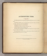 (Text Page) Authorities Used., Martenet's Map of Maryland, Atlas Edition, Under the Patronage of the Legislature., Text Page: Authorities Used.