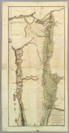 Plan of the Operations of the British & Ottoman Forces in Egypt