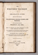 Title Page: The Western Tourist Or Emigrant's Guide