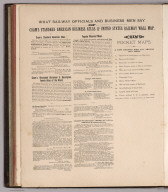 Advertisement: What Railway Officials and Business Men Say of Cram's Standard American Business Atlas and United States Railway Wall Map.