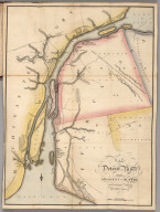 Map of Detroit River and Adjacent Country.